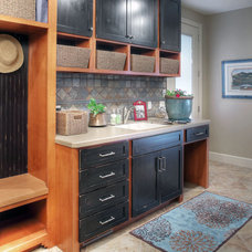 Eclectic Laundry Room by The Designers Furniture Gallery