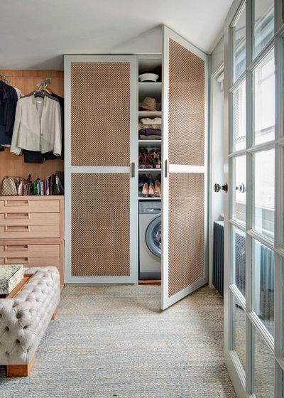 10 solutions astucieuses pour dissimuler une machine laver - Dissimuler une porte ...