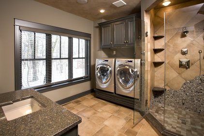 Traditional Laundry Room by Bob Michels Construction, Inc.