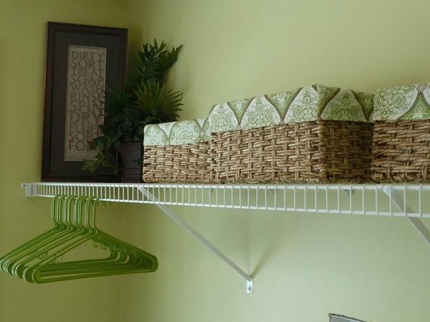 Farmhouse Laundry Room by Creative Decor by Mandi