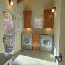 Contemporary Laundry Room by Hefferlin & Kronenberg Architects