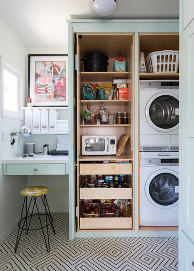 Eclectic Laundry Room by 22 INTERIORS