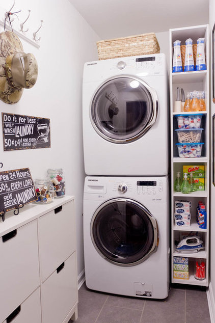Contemporary Laundry Room by Rikki Snyder