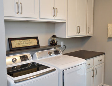 Lowell, IN. Haas Lifestyle Collection. White Maple Kitchen & Laundry