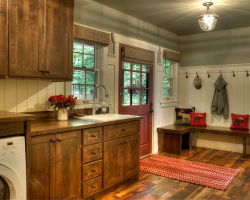Country Laundry Room Design Ideas Renovations Photos With Medium