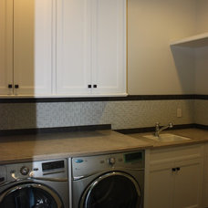 Traditional Laundry Room by LuAnn Development, Inc.