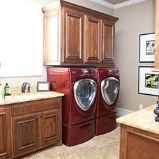 Traditional Laundry Room by B&S Woodworking Inc.