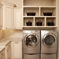 Contemporary Laundry Room by B&S Woodworking Inc.