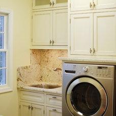 Traditional Laundry Room by Cranbury Design Center LLC