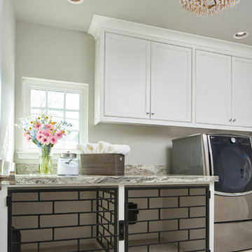 Luxury Estate Remodel: Laundry Room