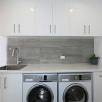 California Closets Modern Laundry Room Miami by California