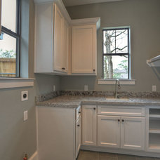 Traditional Laundry Room by Alleanza Custom Homes