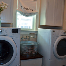 Traditional Laundry Room by A. Dodson's