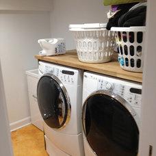 Modern Laundry Room by Codfish Park Design llc