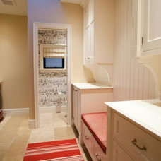 Traditional Laundry Room by AM Interior Design
