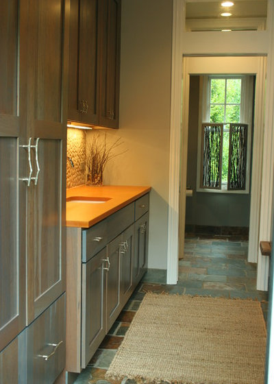 Contemporary Laundry Room Makeover of the Month!