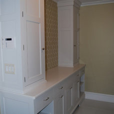 Traditional Laundry Room by MAM Designs Corporation