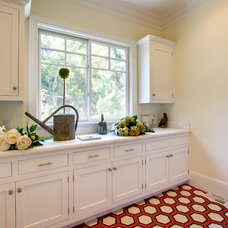 Traditional Laundry Room by White Picket Fence, Inc