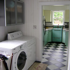 Eclectic Laundry Room by Erwin Renovation LLC