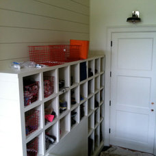 Traditional Laundry Room by EAS Residential Design, LLC