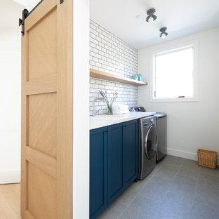 Marin Modern Farmhouse Laundry Room