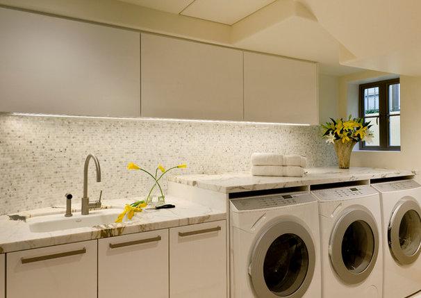 Contemporary Laundry Room by Haefele Design