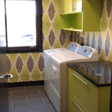 Eclectic Laundry Room Marla Baird