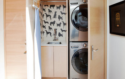 New This Week: 3 Fresh and Clean Laundry Spaces