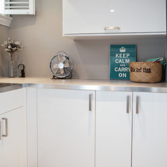contemporary laundry room by Stratus Homes Toronto