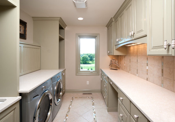 Traditional Laundry Room by Schrader & Companies