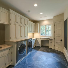 Traditional Laundry Room by Mirador Builders