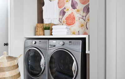 New This Week: 3 Fun Laundry Room Styles to Consider