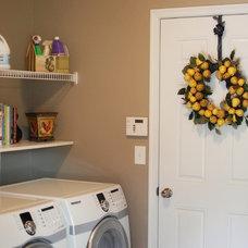 Traditional Laundry Room Melanie