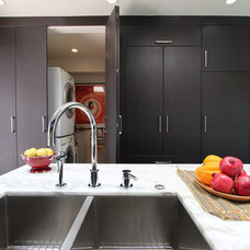 Transitional Laundry Room by Pretty Smart