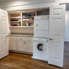 Contemporary Laundry Room by RD Architecture, LLC