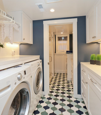 Craftsman Laundry Room by Design Really Matters