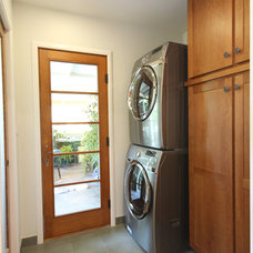 Traditional Laundry Room by K.C. Customs & Remodeling, Inc.