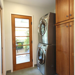 Inspiration for a timeless laundry room remodel in San Francisco