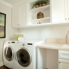Traditional Laundry Room by Allwood Construction Inc