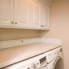 Traditional Laundry Room by Riddle Construction and Design