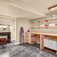 Traditional Laundry Room by Seattle Staged to Sell and Design LLC
