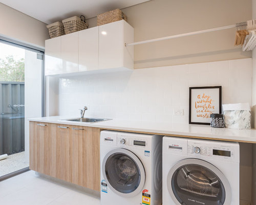 6 scandinavian perth laundry room design ideas remodel pictures houzz - Scandinavian furniture perth ...