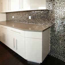 Contemporary Laundry Room by SOLI Architectural Surfaces