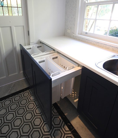 Modern Laundry Room by Kitchens by Emanuel