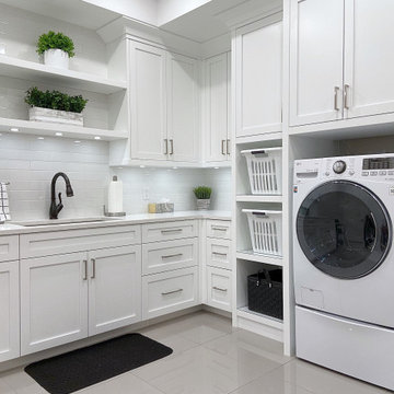 Milford Laundry Room