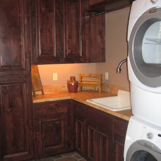 Traditional Laundry Room by Inside Eye Design