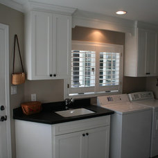 Traditional Laundry Room by Kitchens of Diablo