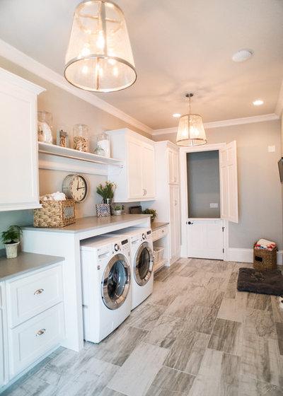 Farmhouse Laundry Room By Design Studio