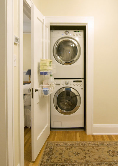 Contemporary Laundry Room by Castle Building & Remodeling
