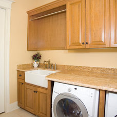 Traditional Laundry Room by Riverstone, Inc